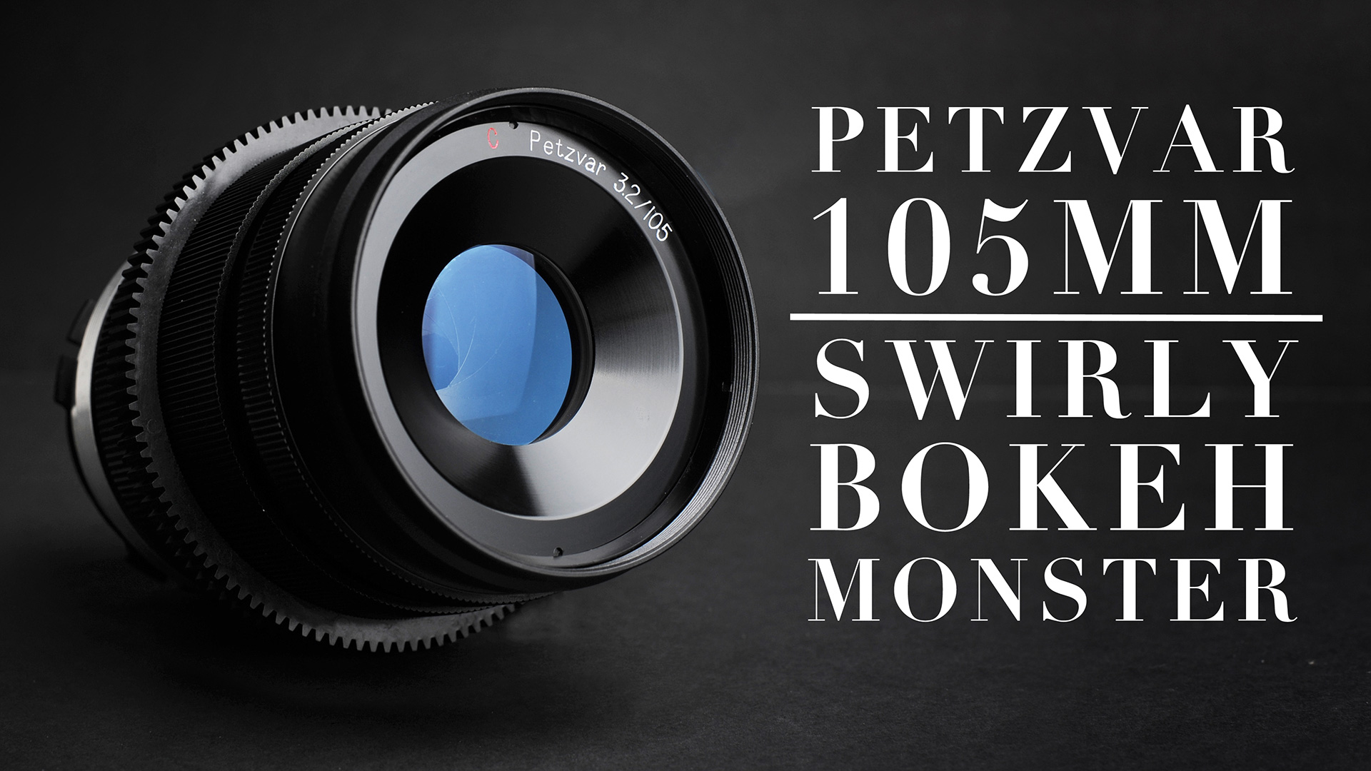 PETZVAR 105mm F3.2 PL Mount Lens | Swirly Bokeh Monster